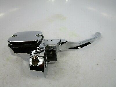 $129.99 • Buy 2007 Harley Cvo Touring 11/16  Chrome Front Brake Master Cylinder Control 96-07