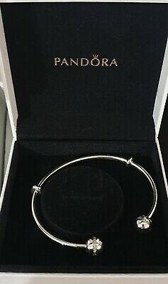 AU110 • Buy Pandora Genuine Silver Limited Edition Open Bangle With Shooting Star- 19cm