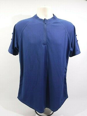 £8.99 • Buy Ex Police Blue Self Wicking Cool Max T-shirt Long Short Sleeved Cycle Breathable