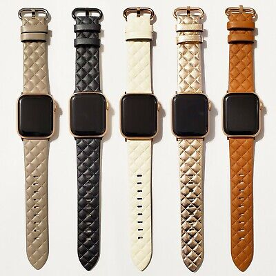 $ CDN19.83 • Buy Leather Modern Style Design Band For Apple Watch Series 6, 5, 4, 3, 2, 1