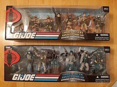 $ CDN399.99 • Buy G.I. Joe 25th Anniversary Lot - Cobra Desert & Arctic Assault Squad Box Sets
