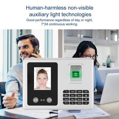 Face Recognization Fingerprint Time Clock Attendence Access Control System • 71.42£