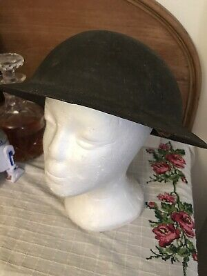 WW1 Original British Army Brodie Steel Helmet  -made By VICKERS Stamped • 195£