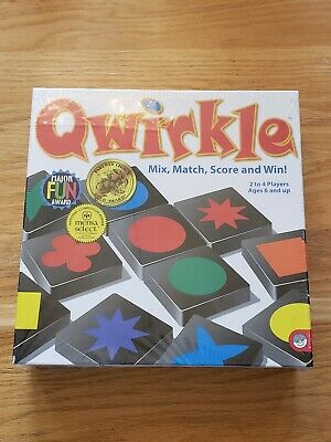 $ CDN18.86 • Buy Qwirkle Game - MindWare Award Winning Strategy Match - NIB Sealed Fast Shipping