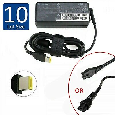 $ CDN243.37 • Buy Lot Of 10 Genuine Lenovo ThinkPad Laptop AC Power Adapter 65W 20V 3.25A - SQUARE