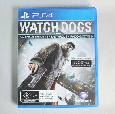 AU15 • Buy PS4 Watch Dogs - Playstation 4