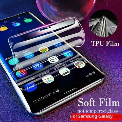 $ CDN3.73 • Buy HYDROGEL Screen Protector Samsung Galaxy S20 Ultra S10 S9 S8 Plus Note 10 20