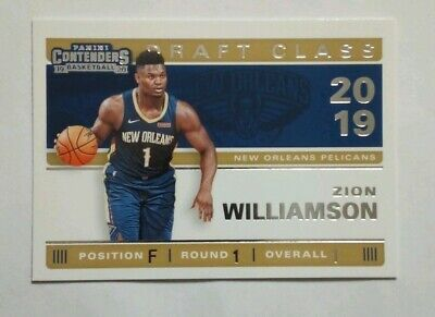 $2.24 • Buy 2019-20 Panini Contenders Zion Williamson Rookie Draft Class Insert Card #1.