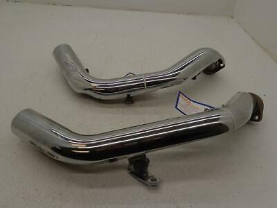 $48.40 • Buy 04-06 Harley Davidson Sportster FRONT REAR EXHAUST HEADER HEAD PIPE HEAT SHIELD
