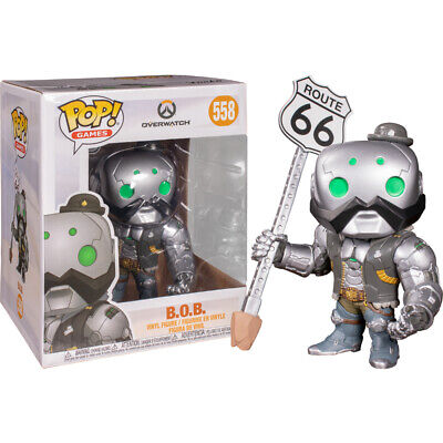 AU43.70 • Buy Overwatch B.O.B. 6  #558 - New Funko POP! Vinyl Figure