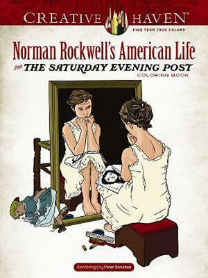 $ CDN13.99 • Buy Creative Haven Norman Rockwell's American Life From The Saturday Evening Post Co