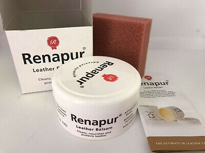 Renapur Leather Balsam 125ml Condition Waterproof Shoes Boots Tack Etc • 12£