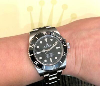 $ CDN14342.22 • Buy Rolex Submariner No Date 114060 Black Dial