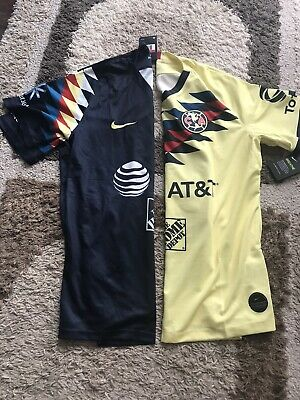 $99 • Buy Nike Club America Jersey Aguilas Soccer Futbol Mexico Home And Away Sz Large