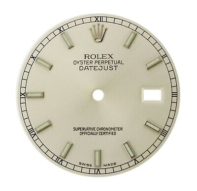 $ CDN461.36 • Buy Rolex Silver Index Dial For 36m Datejust 116234 116200