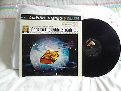 $2.99 • Buy Back To The Bible Broadcast .. Rca Lp .. 1960