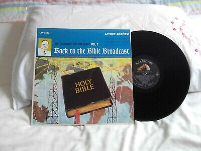 $2.99 • Buy Back To The Bible Broadcast Vol. 2 .. Rca