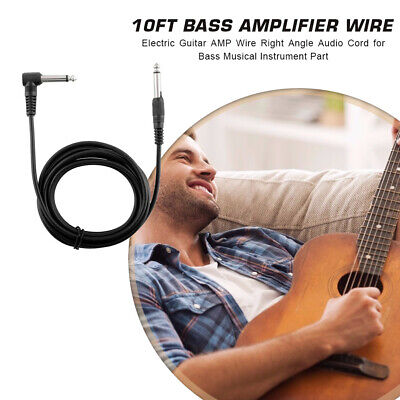 $ CDN6.56 • Buy 3m Electric Guitar Amplifier Cable Bass Stereo AMP Cord Musical Instrument Parts