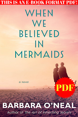 $1.15 • Buy When We Believed In Mermaids 🔥P.D.F🔥 By-Barbara O'Neal♨️ E-mail Delivery