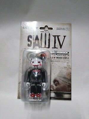 $95 • Buy Lionsgate Saw 4 IV Medicom Bearbrick Wood Doll 100% Rare