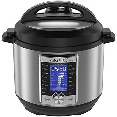 $171.03 • Buy Electric Pressure Cooker 6 Quart Stainless Steel Programmable 10 In 1 Slow Cook