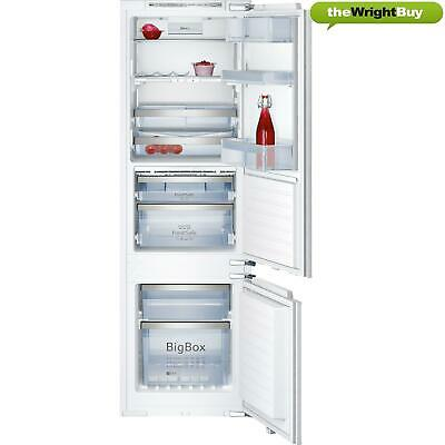 View Details Neff K8345X0 Built-in Fridge Freezer, Integrated 70/30 Combi Bottom Freezer • 599.99£