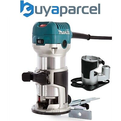 £189.99 • Buy Makita RT0700CX4 240V 1/4  Router Laminate Trimmer With Guide And Offset Base