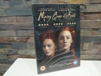 New/sealed MARY QUEEN OF SCOTS DVD - UK. FAST/FREE POSTING. • 4.99£