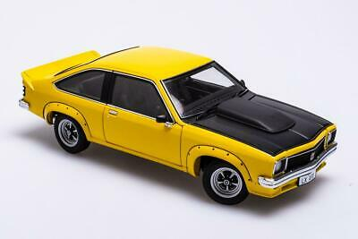 AU265 • Buy Holden LX Torana A9X Hatchback – Absinth Yellow  1:18 Biante Model Cars