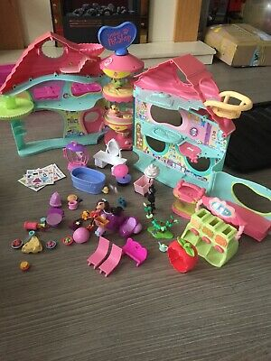 Littlest Petshop Big Pet Shop Playhouse With Lots Of Accesories Rare • 14£