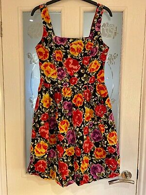 Ladies Clothes Size 10 Dorothy Perkins Summer Dress With Puff Ball Style Hem (82 • 8.99£