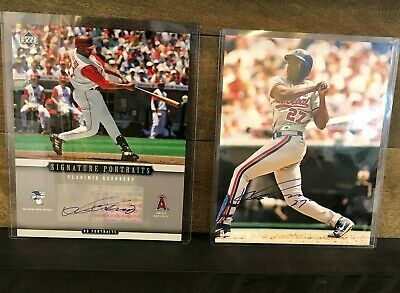 $ CDN99.99 • Buy Lot Of 2 2005 Upper Deck UD Portraits Vladimir Guerrero Autograph Photos Auto