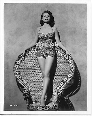 $ CDN79.37 • Buy Vintage PEGGIE CASTLE Lawman PHOTO Sexy Bare Legs BUSTY PIN-UP Peggy