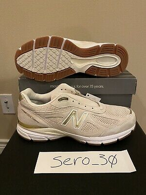 $100 • Buy Size 12 New Balance 990v4 Made In USA Beige Gold Suede Men's M990AG4 *Brand New*