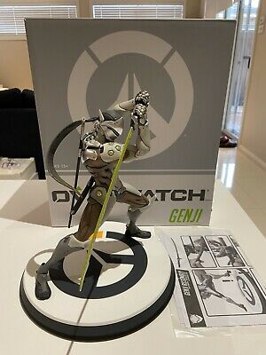 AU199 • Buy Official Overwatch Genji Statue - Limited Edition RARE Blizzard Exclusive