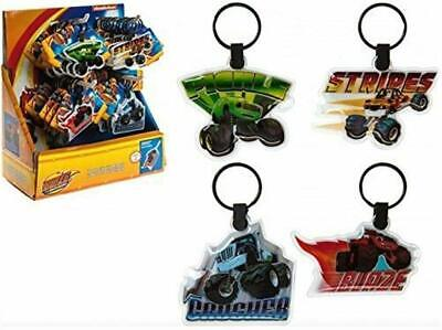 4 X Blaze And The Monster Machine LED Torch Light Keyrings • 5.99£