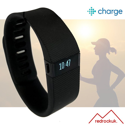 View Details Fitbit Charge Fitness Activity Tracker Wristwatch Pedometer - Black - Large • 27.95£
