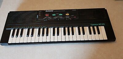 $28 • Buy (Pickup Only Ohio) Casio Casiotone 1987 MT-105 Mini Electronic Keyboard Synth