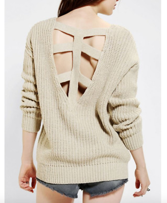 AU25 • Buy Urban Outfitters Ivory Jumper Sweater
