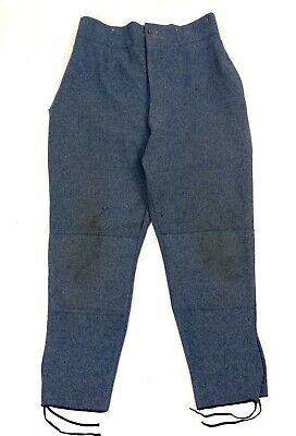 Rare Original WW1 French Army Horizon Blue Trousers • 450£