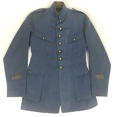 Original WW1 French Army Officers Horizon Blue Tunic  • 345£