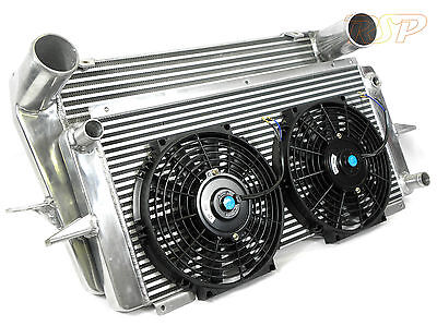 Uprated Alloy Intercooler + Radiator With 2 Fans Ford Sierra RS Cosworth 2wd/4x4 • 399.99£