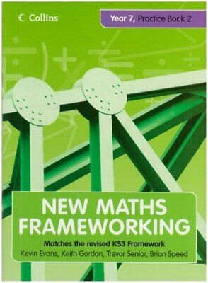 New Maths Frameworking - Year 7 Practice Book 2 (Levels 4-5): Practice (Levels, • 2.41£