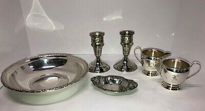 $ CDN460.11 • Buy STERLING SILVER  Holloware~4 Pc Lot~511 Grams - Scrap Or Not