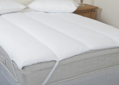 BD- IKEA Blended Cotton Mattress Reviver/Topper - Double • 29.99£