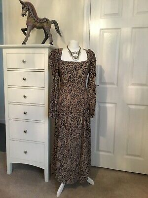 $20.99 • Buy ZARA Animal Print Maxi Dress Size XL  New