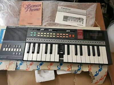 $24.95 • Buy Vintage Casio Mt-18 Keyboard (Casiotone) Songs On ROM Card Included Synthesizer