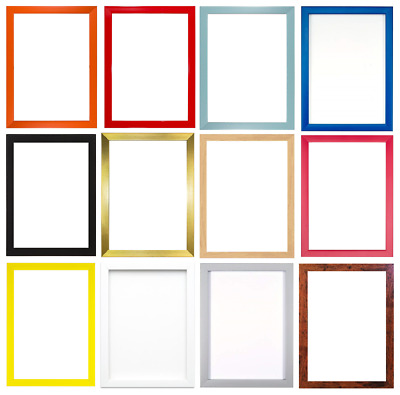 £13.99 • Buy 15 Rainbow Colours Modern Range Picture Photo Poster Frame Decor A2 A3 A4 A5