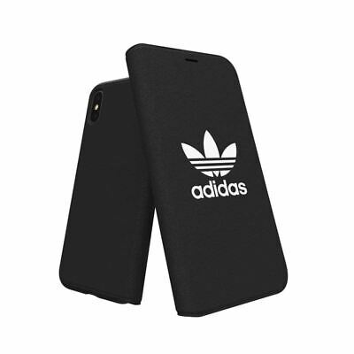 AU22.95 • Buy Genuine Adidas Booklet Case Cover For Apple IPhone X/Xs (5.8 ) - Core Black