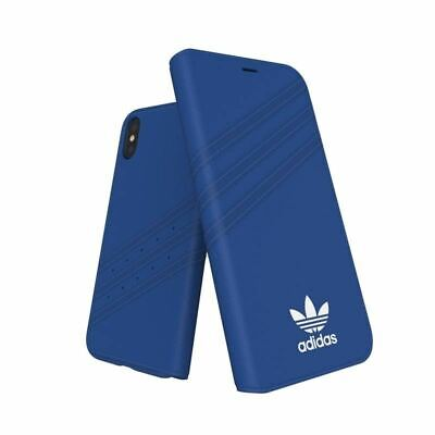 AU22.95 • Buy Genuine Adidas Booklet Case Cover For IPhone Xs/X (5.8) - Blue